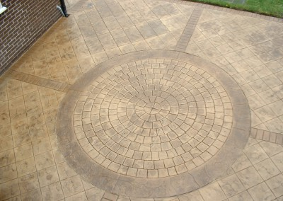 Pattern Imprinted Concrete (205)