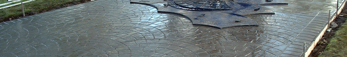 Pattern Imprinted Concrete Installation Process
