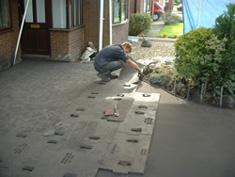 Pattern Imprinted Concrete Installation10