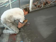 Pattern Imprinted Concrete Installation11