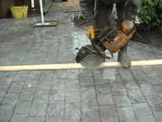 Pattern Imprinted Concrete Installation12