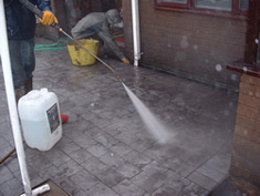 Pattern Imprinted Concrete Installation13