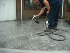 Pattern Imprinted Concrete Installation14