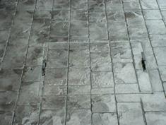 Pattern Imprinted Concrete Installation15