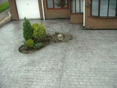 Pattern Imprinted Concrete Installation16