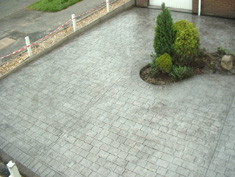 Pattern Imprinted Concrete Installation17