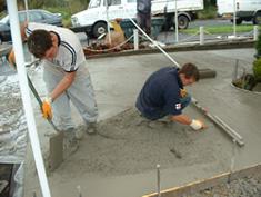 Pattern Imprinted Concrete Installation7
