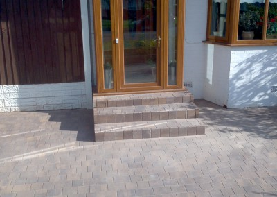 Block Paving Step
