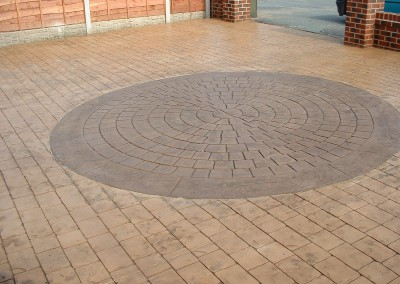 Pattern Imprinted Concrete Design