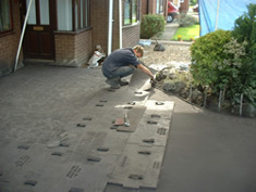 Pattern Imprinted Concrete Installation10