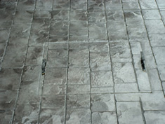 Pattern Imprinted Concrete Installation15