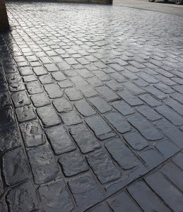 London Cobble Concrete Driveways Wigan