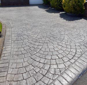 London Cobble Concrete Driveways Wigan
