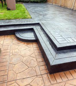 Modern Patio in French Grey Hindley Wigan