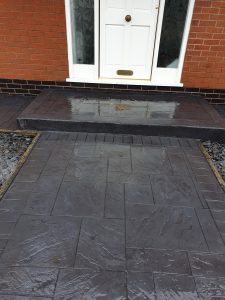 Patterned Concrete Path and Walkways Wigan