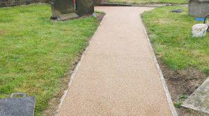 Resin Bound Stone Gravel Pathway Tyldesley Wigan
