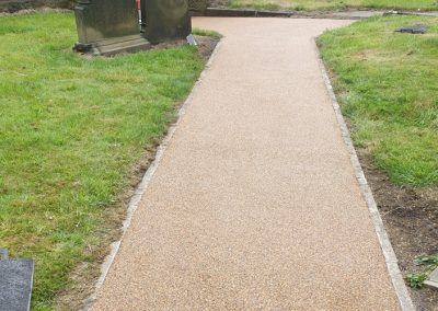 Resin Bound Stone Gravel Pathway Tyldesley Wigan