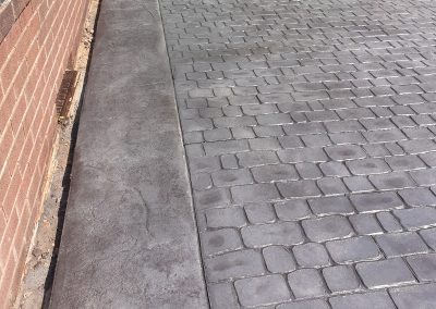 Pattern Imprinted Concrete Driveway in Maghull 10