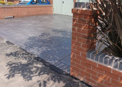 Pattern Imprinted Concrete Driveway in Maghull 11