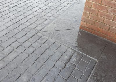 Pattern Imprinted Concrete Driveway in Maghull 6