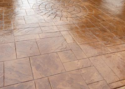 Pattern Imprinted Concrete Driveway Hindley Wigan 2019